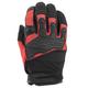 Red/Black Hammer Down Mesh Gloves