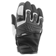 Women's White/Black Backlash Mesh Gloves