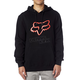 Black/Red Legacy Fox Head Hoody