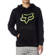 Black/Green Legacy Fox Head Hoody