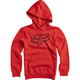 Youth Flame Red Legacy Hoody