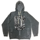 Flying Wheel Zip Hoody