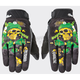 Black/Green Joe Destroy Gloves