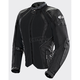 Women's Black Cleo Elite Textile Mesh Jacket