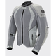 Women's Silver Cleo Elite Textile Mesh Jacket