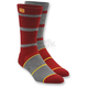 Burgundy Austin Socks