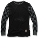 Black Checkers Shibuya Long Sleeve Shirt