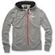 Drew Gray Fleece Zip Hoody