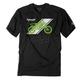 Black Kawasaki Slant T-Shirt