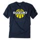 Navy Suzuki Sun T-Shirt