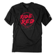 Youth Black Honda Ride Red T-Shirt
