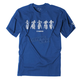 Youth Royal Blue Yamaha Lineup T-Shirt