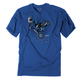 Youth Royal Blue Moto Kids T-Shirt