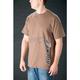 Brown Logo Stunt T-Shirt