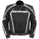 Black/Silver Razor 2.0 Leather Jacket