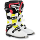 White/Yellow/Red Vented Tech 8 Light Boots