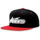 Red/Black Imprint Hat - 1013-8505630