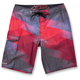 Red Minor Boardshorts