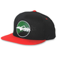 Black/Red Sunset Snapback Hat - HM5SUNSETBR
