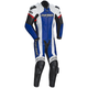 Blue/White/Red Adrenaline RR Leather One-Piece Suit