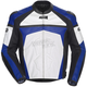 Blue/White/Black Adrenaline Leather Jacket