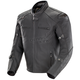 Black Hyperdrive Perforated Jacket