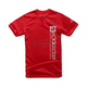 Red Leaderboard T-Shirt