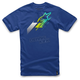 Royal Blue Disect T-Shirt
