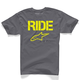 Charcoal Ride Solid T-Shirt