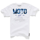 White Moto Start T-Shirt