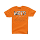Orange Moto Start T-Shirt