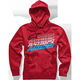Red Hashed Hoody