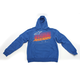 Blue Hashed Hoody