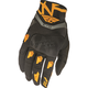 Black/Orange Evolution 2.0 Gloves