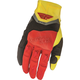 Black/Red/Yellow Evolution 2.0 Gloves
