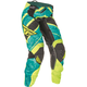 Women's Teal/Hi-Vis Yellow Kinetic Pants