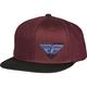 Port/Blue Choice Snapback Hat - 351-0542