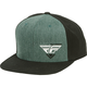 Black/Heather Choice Snapback Hat - 351-0546