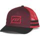 Red/Black Huck It Snapback Hat - 351-0552