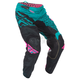 Teal/Pink/Black Kinetic Mesh Trifecta Pants