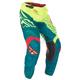 Hi-Vis Yellow/Teal Kinetic Mesh Trifecta Pants