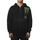 Monster Energy Zebra Zip Hoody