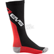 Black/Red Moto Socks