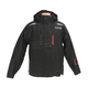 Black/Red Octane Trail Snowmobile Jacket