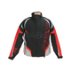 Black/Red/Silver Rush Racing Snow Jacket