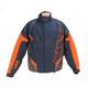 Navy/Orange/Charcoal Rush Racing Snow Jacket