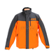 Orange/Charcoal Recreation Trail Snow Jacket