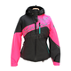 Women's Charcoal/Pink/Jade Mirage Backcountry Jacket