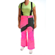 Women's Pink/Charcoal/Jade Mirage Backcountry Snow Pants