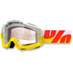 White/Yellow/Red Accuri In & Out Goggle w/Clear Lens - 50200-095-02